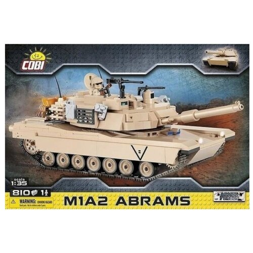 Конструктор Cobi Small Army 2619 Танк Абрамс A1M2 конструктор cobi small army world war ii 2519 танк tiger i 131