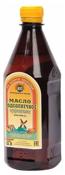 Василева Слобода Масло подсолнечное нерафинированное, пластиковая бутылка