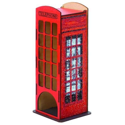 Купить Гранни Алмазная мозаика Телефонная будка (w0004) 10x26x10 см, Алмазная вышивка