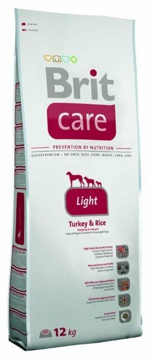 Корм для собак Brit Care индейка с рисом 12 кг