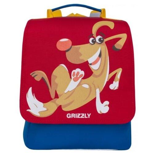 цена на Grizzly Рюкзак (RK-998-1), красный/синий