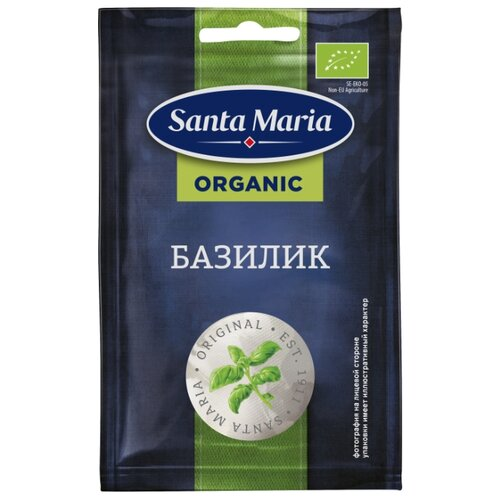 Santa Maria Пряность Базилик organic, 4 г
