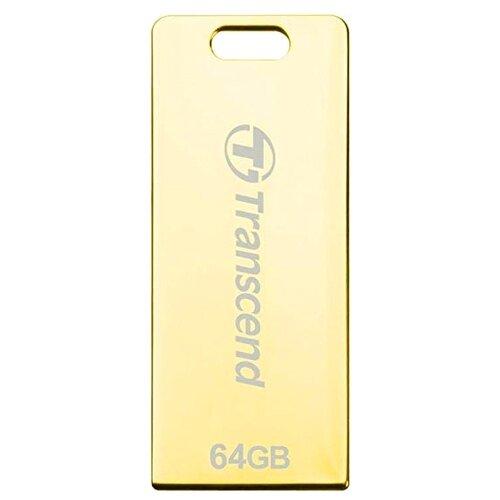Фото - Флешка Transcend JetFlash T3G 64 GB, золотой флешка transcend jetflash 820g 64 gb золотой