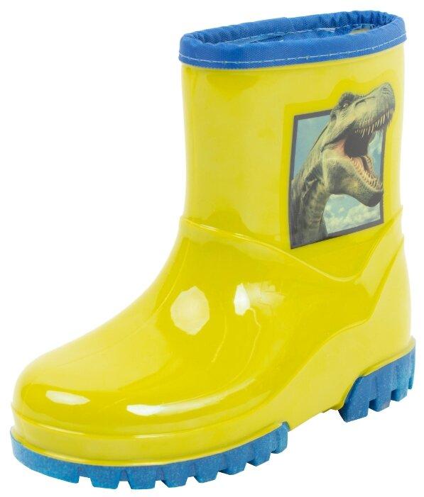 Резиновые сапоги playToday размер 29, желтый