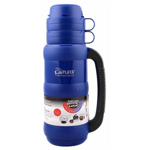 Классический термос LaPlaya Traditional Glass (1 л) dark-blue