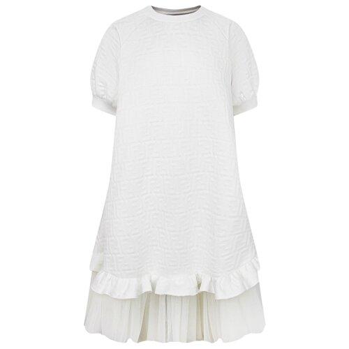 Платье FENDI размер 140, белый худи fendi размер 140 белый