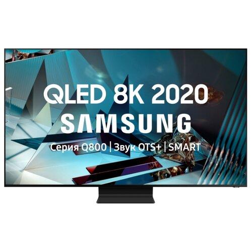 Купить Телевизор QLED Samsung QE65Q800TAU 65 (2020) черный титан