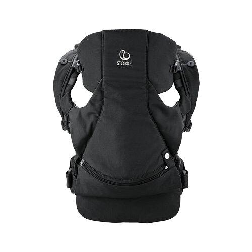 Купить Рюкзак-переноска Stokke MyCarrier Front and Back black, Рюкзаки и сумки-кенгуру