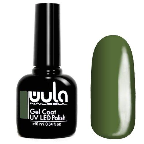 Гель-лак для ногтей WULA Gel Coat, 10 мл, оттенок 383 дымчато-зеленый хаки гель лак для ногтей wula gel coat 10 мл оттенок 367 серо зеленый