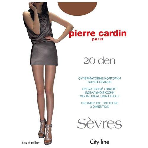 Фото - Колготки Pierre Cardin Sevres, 20 den, размер IV-L, bronzo (коричневый) колготки 50 den pierre cardin marseille coffee 2 мл