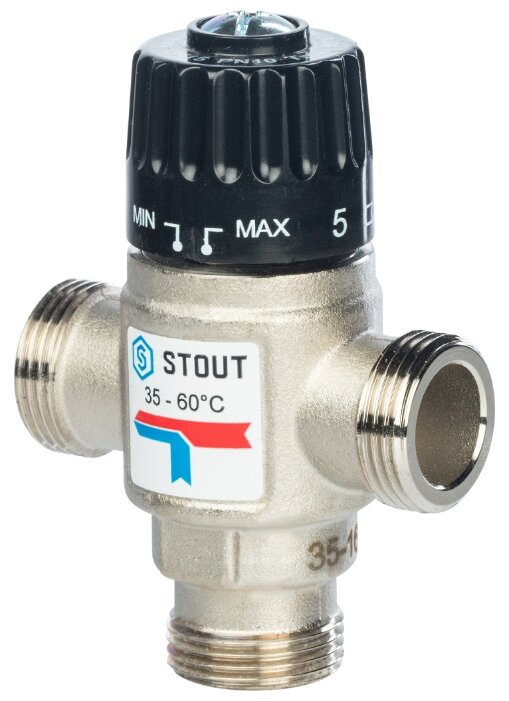 Термостатический клапан для радиатора STOUT SVM-0020-166020
