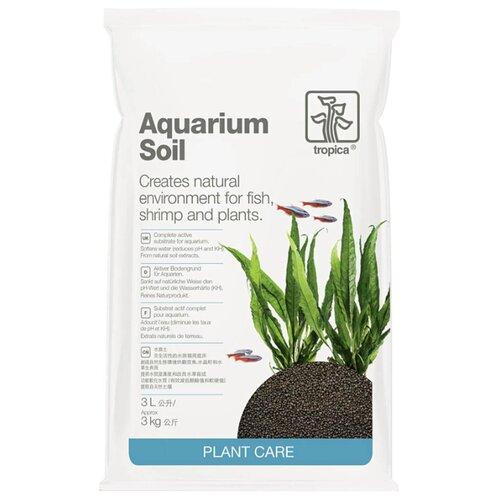 Грунт Tropica Aquarium Soil 3 л темно-коричневый