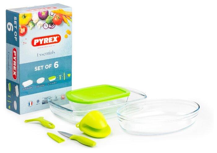 Набор посуды для запекания Pyrex 6 предметов 912S756OK/2018 (6 шт.)