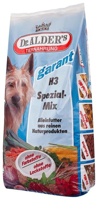 Корм для собак Dr. Alder`s (15 кг) Н-3 СПЕЦИАЛЬНАЯ СМЕСЬ мясо + овощи + кукурузные хлопья + овсяные хлопья хлопья Для взрослых собак