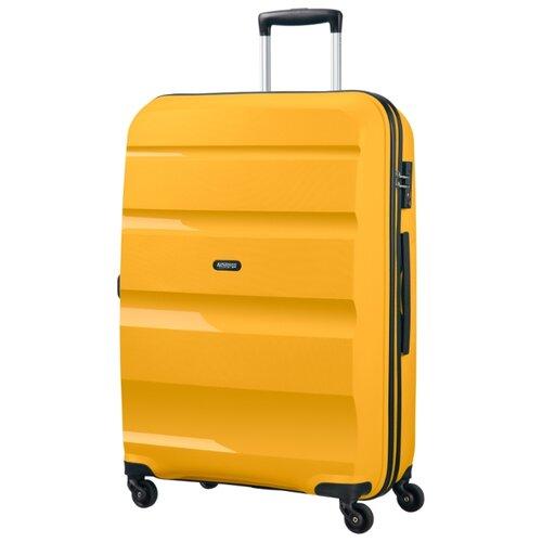 Чемодан American Tourister Bon Air 91 л, светло-желтый