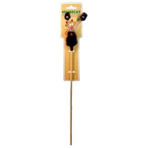 Дразнилка для кошек Homecat Глазастик из норки игрушка для кошек homecat дразнилка лапка из норки с лентами 71133 1 шт