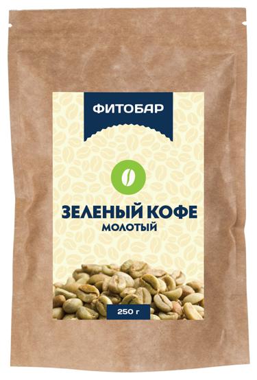 Соик Зеленый кофе молотый, 250 г