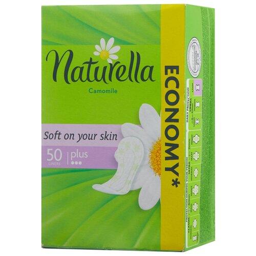 Naturella прокладки ежедневные Camomile Comfort Plus 50 шт.