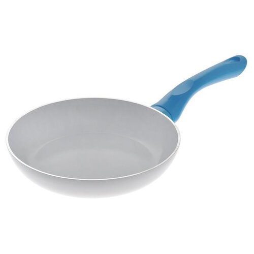 Сковорода Beka Fluo 20 см, белый/голубой