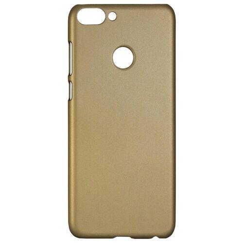 Чехол Volare Rosso Soft-touch для Huawei P Smart (пластик) золотой