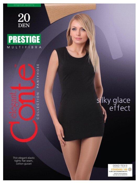 Купить Колготки Conte Elegant Prestige 20 den, размер 4, bronz (бежевый) по низкой цене с доставкой из Яндекс.Маркета (бывший Беру)