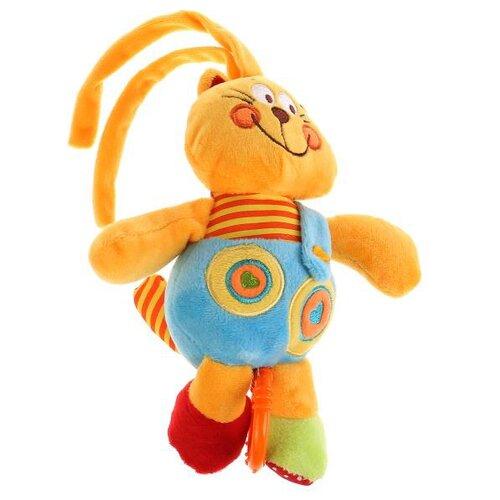 Купить Подвесная игрушка Умка Кот (RM-C) оранжевый/голубой, Подвески