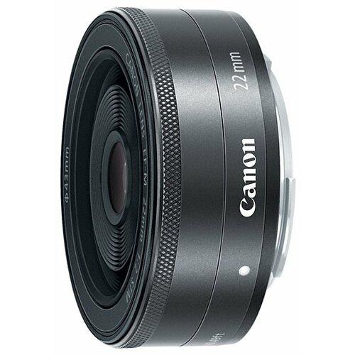 Объектив Canon EF-M 22mm f/2 STM черный