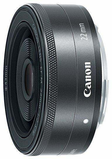 Объектив Canon EF-M 22mm f/2 STM фото 1