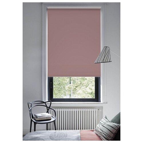 Фото - Рулонная штора Эскар (розовый кварц), 120х170 см рулонная штора эскар blackout светло бежевый 120х170 см