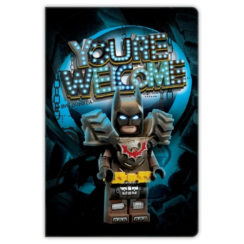 Блокнот LEGO Movie 2 Batman 52340 21x14 см (96 листов)