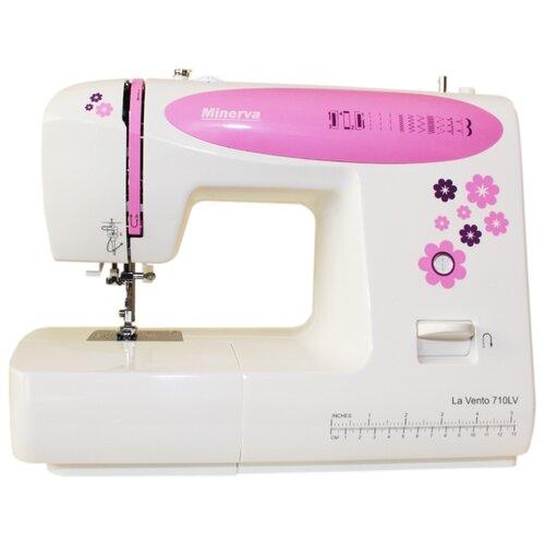 Швейная машина Minerva LA VENTO 710LV, бело-розовый