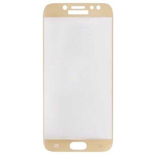 Защитное стекло Liberty Project Tempered Glass с рамкой для Samsung Galaxy J7 2017 золотой защитное стекло liberty project для huawei p smart z tempered glass 0 33mm 2 5d 9h 0l 00043775