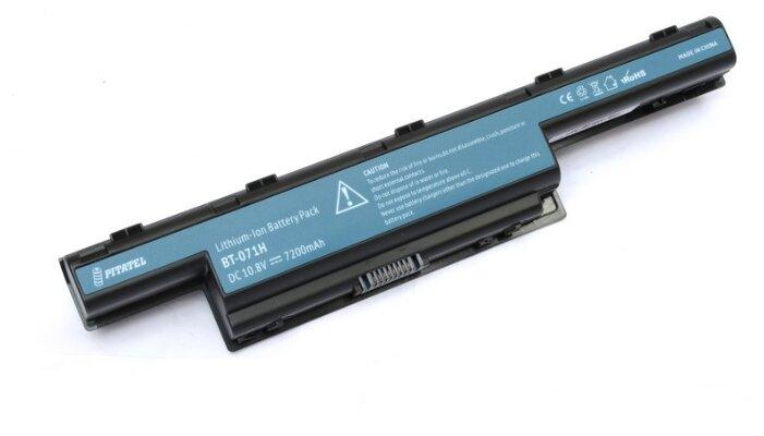 Pitatel Аккумулятор для ноутбука Acer AS10D31, AS10D51, AS10D75, AS10D81 11,1V 6600mAh код BT-071H