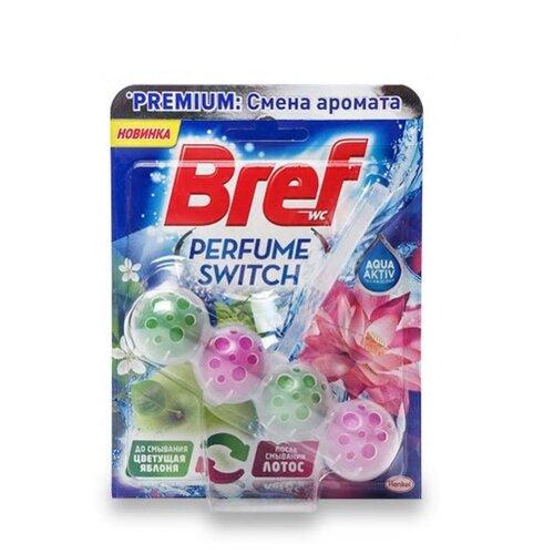Bref туалетный блок Perfume Switch Цветущая яблоня и лотос 0.05 кг 1 шт.Для кафеля, сантехники и труб<br>