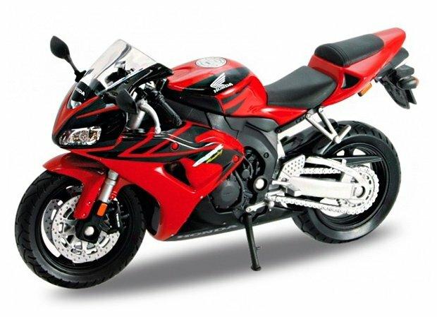Мотоцикл Welly Honda CBR1000RR (12819P) 1:18