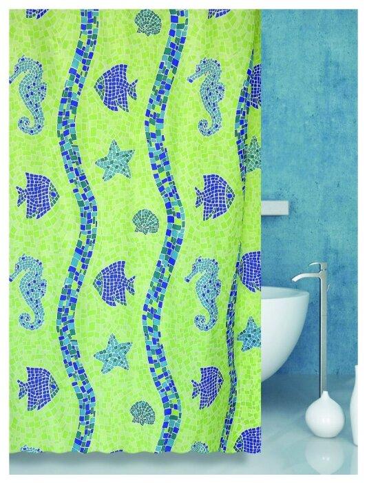 Штора для ванной Bath Plus Coral Reef