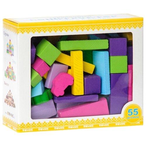 Купить Кубики Томик Краски дня Вечер 6674-32, Детские кубики