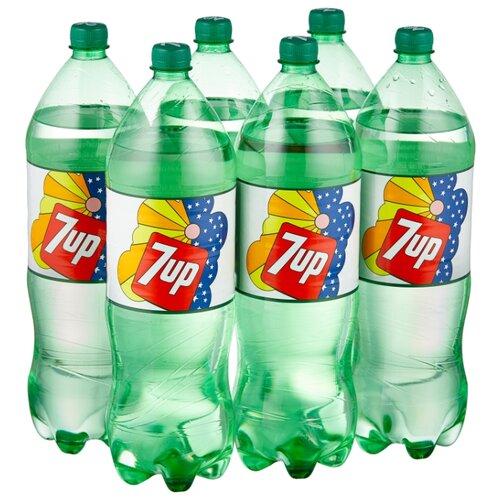 Газированный напиток 7UP Лимон-Лайм, 2 л, 6 шт.