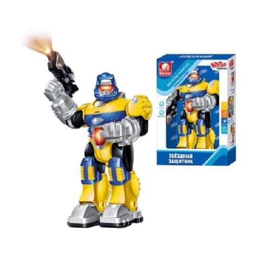 Робот S+S Toys Звездный защитник желтый/синий/серый likeu s no6 желтый