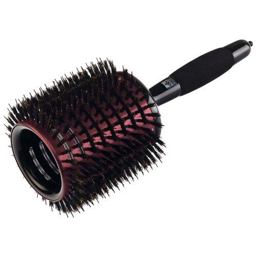 DEWAL Термобрашинг Monster Vent, нейлон и натуральная щетина с мягкой ручкой BR701