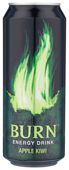 Энергетический напиток Burn Яблоко-киви