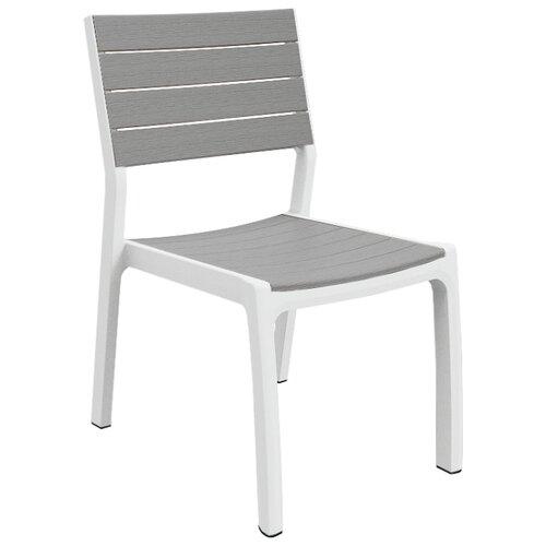 Стул KETER Harmony белый-светло серый хозяйственный блок keter oakland 7511 серый 17201421