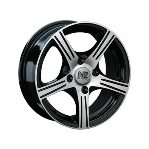 Фото - Колесный диск NZ Wheels SH615 6x14/4x98 D58.6 ET35 BKF колесный диск nz wheels sh665 5 5x14 4x98 d58 6 et35 bkf