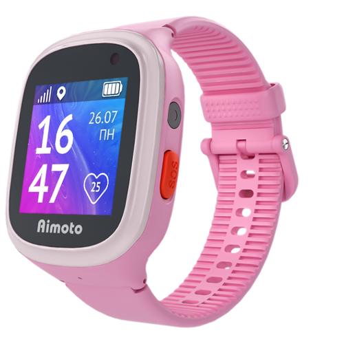 Детские умные часы c GPS Aimoto Start 2 розовый