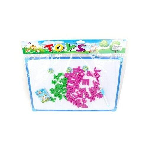 Купить Доска для рисования детская Наша игрушка (638098) голубой, Доски и мольберты