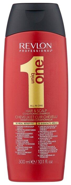 Revlon Professional шампунь-кондиционер Uniq One Hair & Scalp