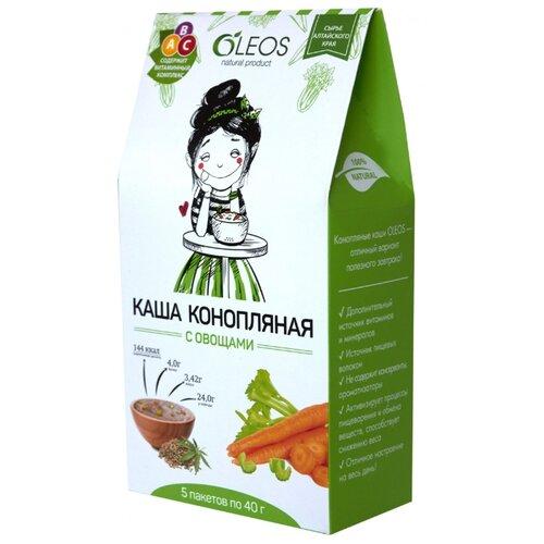 OLEOS Каша конопляная с овощами, порционная (5 шт.)Каши<br>
