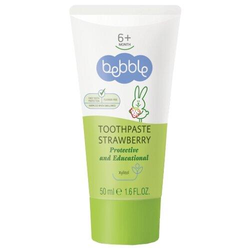 Купить Зубная паста Bebble с ароматом клубники, 50 мл, Гигиена полости рта