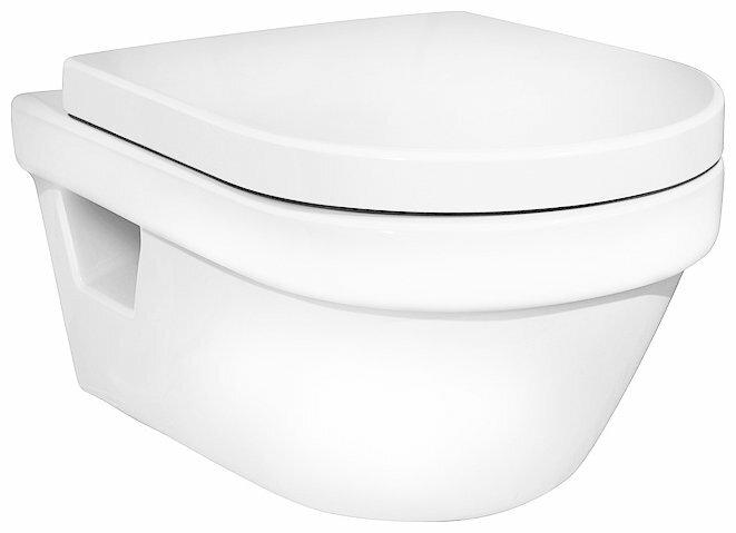 Чаша унитаза подвесная Gustavsberg Hygienic Flush WWC 5G84HR01 (с сиденьем, микролифт) с горизонтальным выпуском