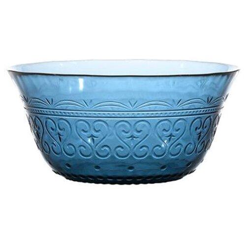 Boulanger Салатник стеклянный 15 см синий